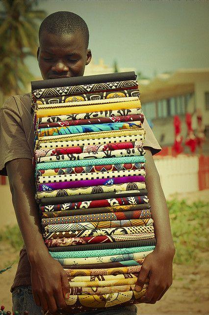 Textile Seller - Mozambique