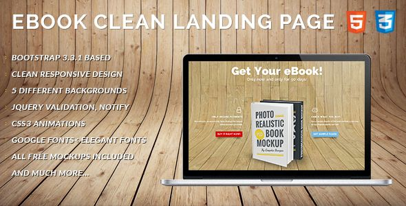 eBook Landing Page for download - http://themeforest.net/item/ebook-landing-page-clean-and-responsive/10001933?ref=quomodo