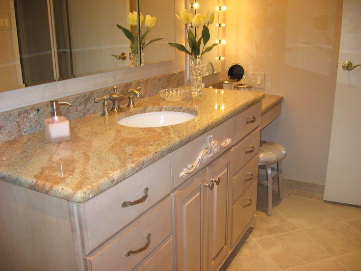 Bathroom Vanities Granite Countertops granite bathroom countertops ideas - http://www.hergertphotography