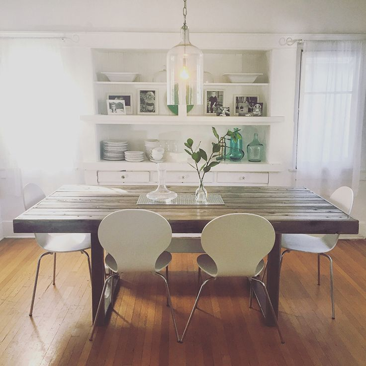 Reclaimed Wood Dining Table Made From Alaskan Yellow Cedar Sourced From The  Hollywood Bowl! Made In Los Angeles, California With Love.