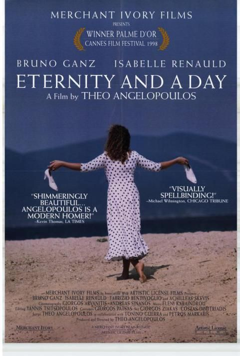 Μια Αιωνιότητα και μια Μέρα .(1998) του Θεόδωρου Αγγελόπουλου