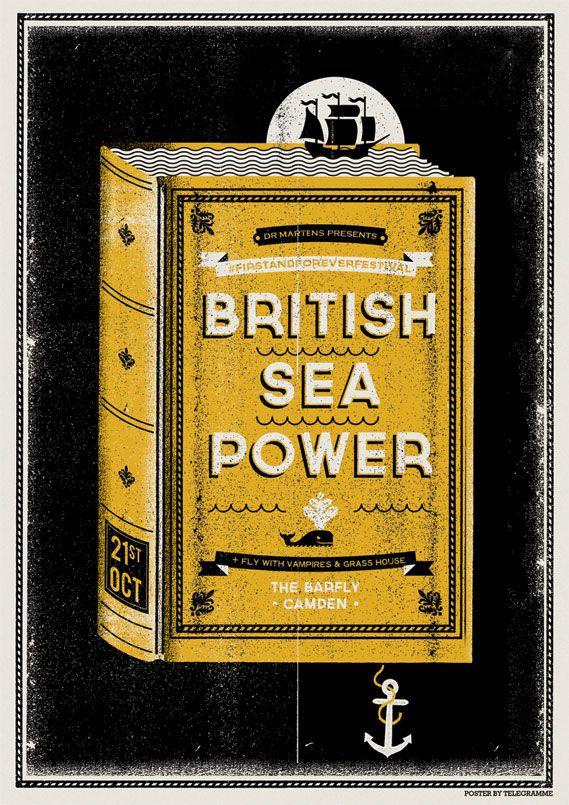 British Sea Power by Telegramme