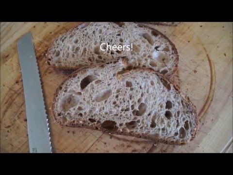 How to Make Tartine Style Country Bread [Video] - Breadwerx