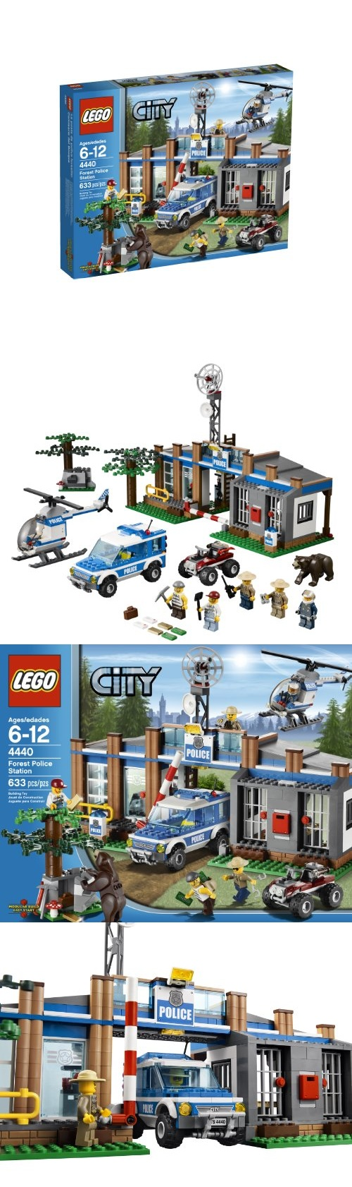 LEGO City Police Forest Station 4440 - Building Sets - Toys$51.99