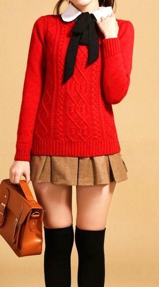 35 Wearable On Trend Khaki Skirt Outfits #khaki #skirt #outfit #summer #love #street #style