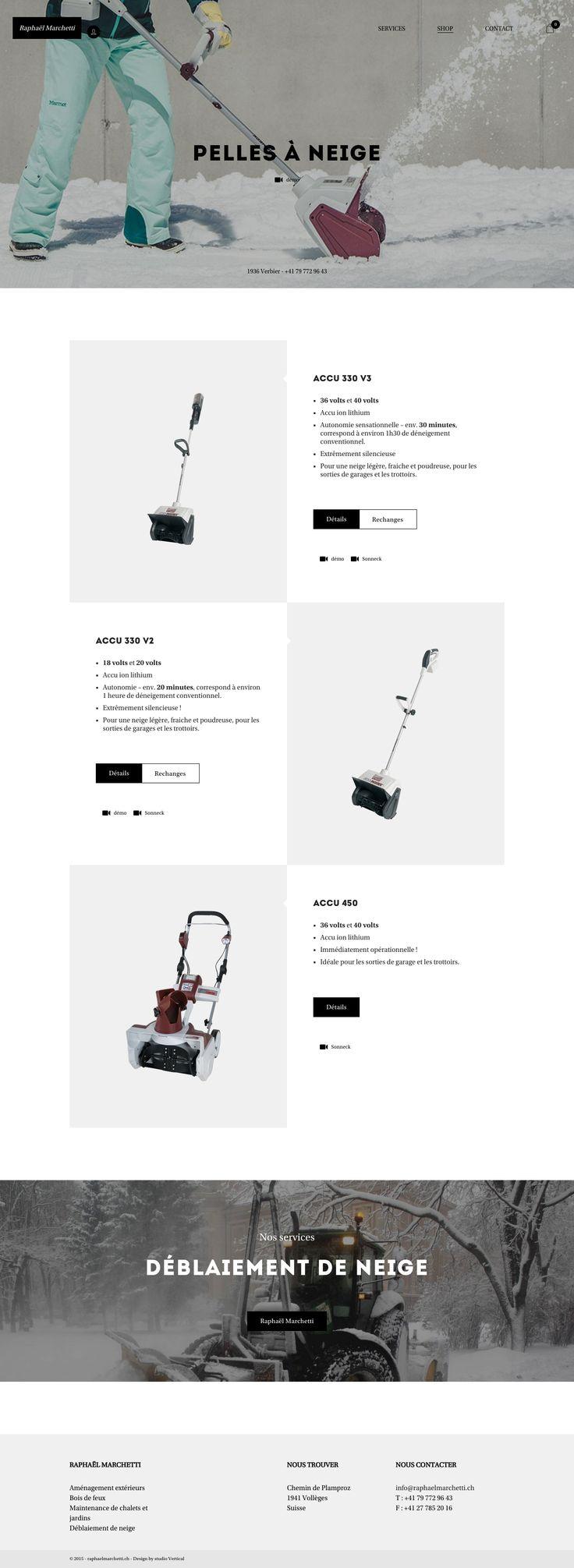 E-commerc | identité digitale | stratégie digitale | webdesign | Pelles à neige #ecommerce #digitalidentity #digitalstrategy #webdesign #verbier #lausanne