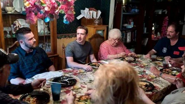 Tour durch alle US-Bundesstaaten: Mark Zuckerberg überrascht Familie zum Abendessen