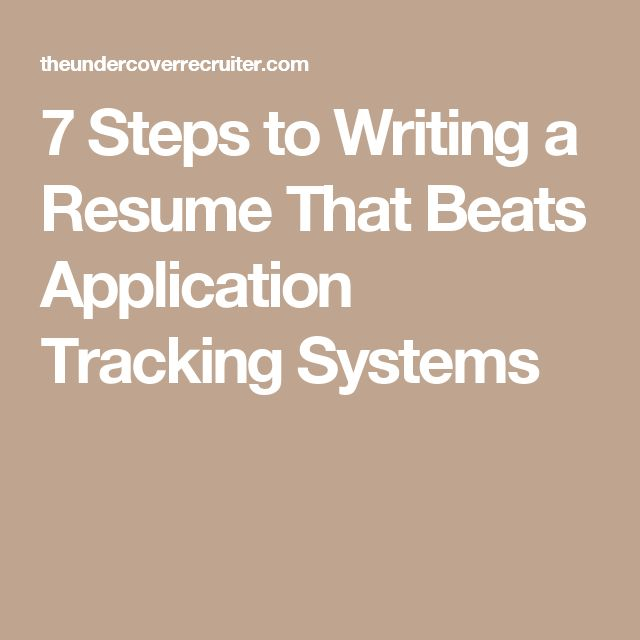 158 best Resumes \ Job Searches images on Pinterest Career - resume tracker