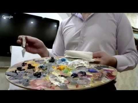 Уроки живописи: Рисовать легко! День 13. Алексей Мартынов - YouTube