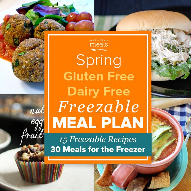 Time to enjoy spring produce in your gluten and dairy free freezer meals! From asparagus to mushrooms these recipes bring fresh flavors to meal planning.