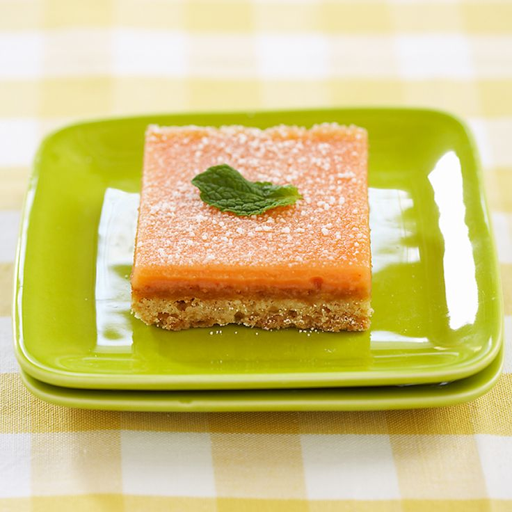 Grapefruit and lime and cardamom!  Oh my.  Texas Pink Grapefruit Bars Recipe