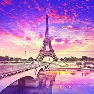 paris wallpaper purple pink - photo #15