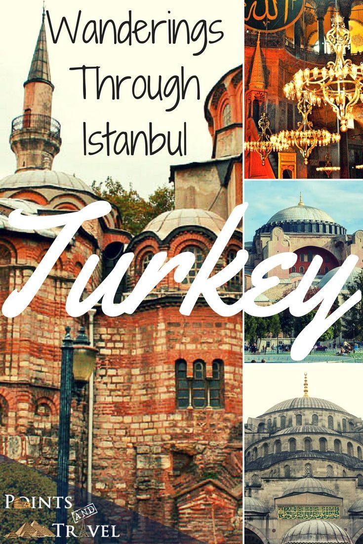 Wanderings Thru Istanbul, Turkey, enjoy your journey around the city!