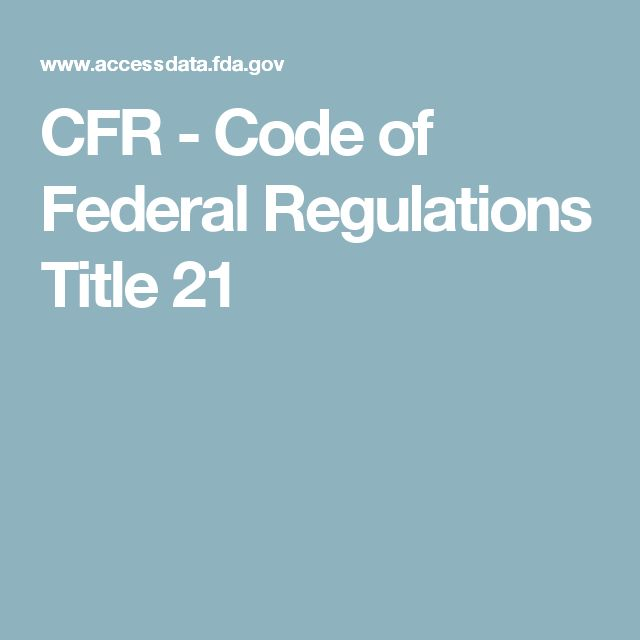 How To Use The Code Of Federal Regulations Ecfr Research