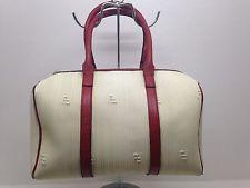 Borsa Bags Fendi Bauletto Shopping Vintage Donna Col. Bianco Anni 90