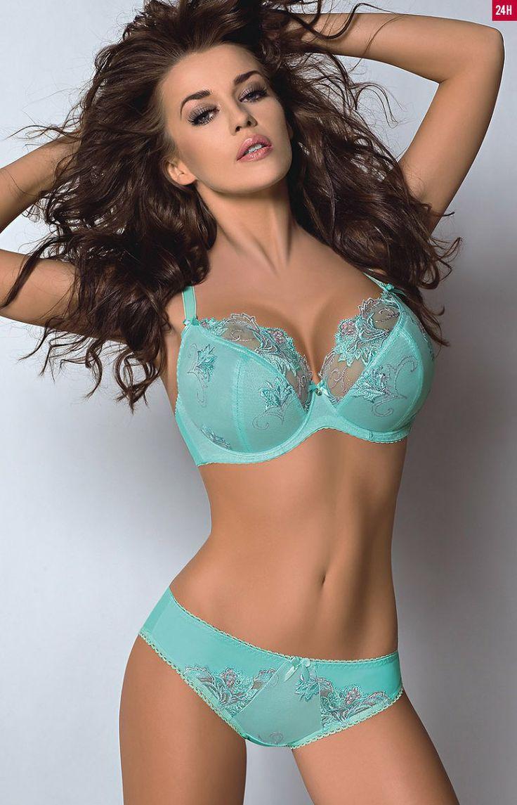 Topless big boob bra in pantie assymetry