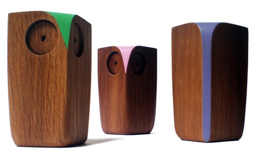 Wooden Owls by Matt Pugh