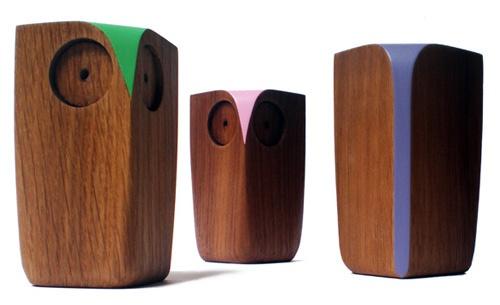 Wooden Owls by Matt Pugh