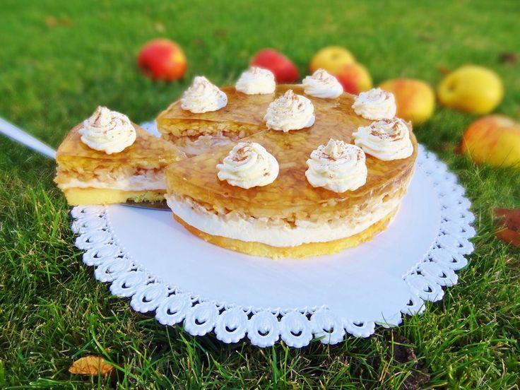Jablečný dortík