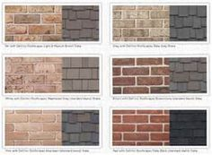 Image result for brick house with black shutters what color entry door