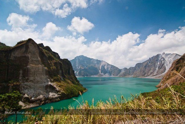 Mount Pinatubo's perilous beauty. #Philippines #travel #Pilipinas