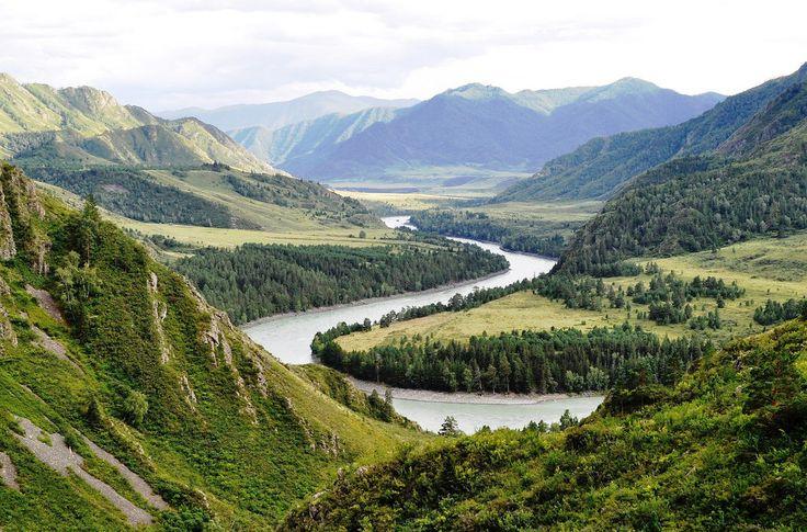 Poutníkem v pohoří Altaj