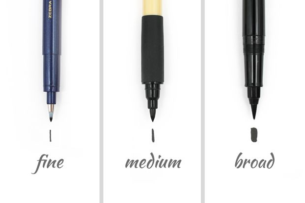 Brush tip type