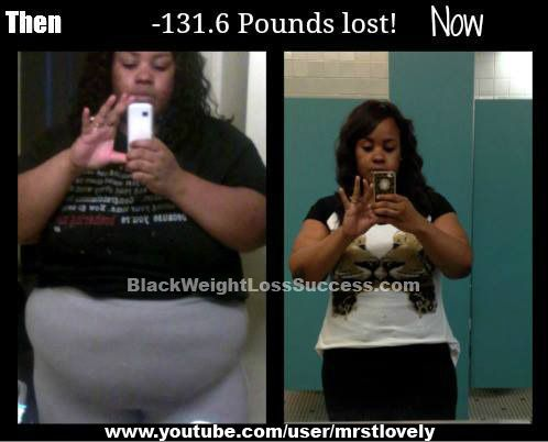 Slow weight loss during period