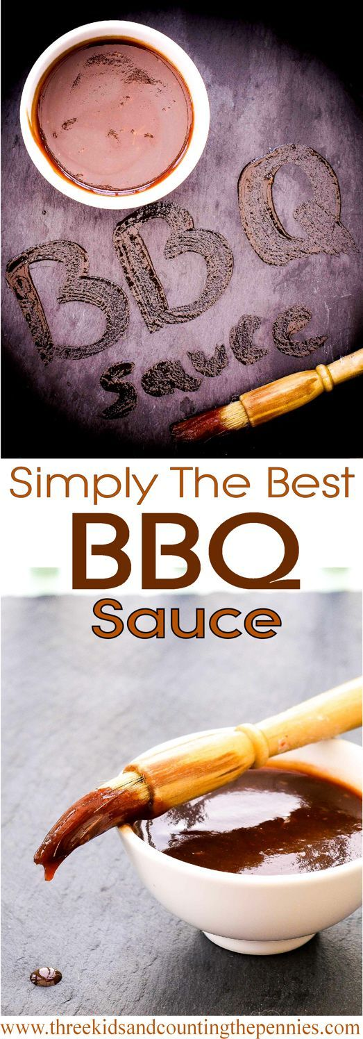 This homemade BBQ sauce is perfect for coating any barbecued meat -- chicken, pork chops, steals -- and great as a dip, too.