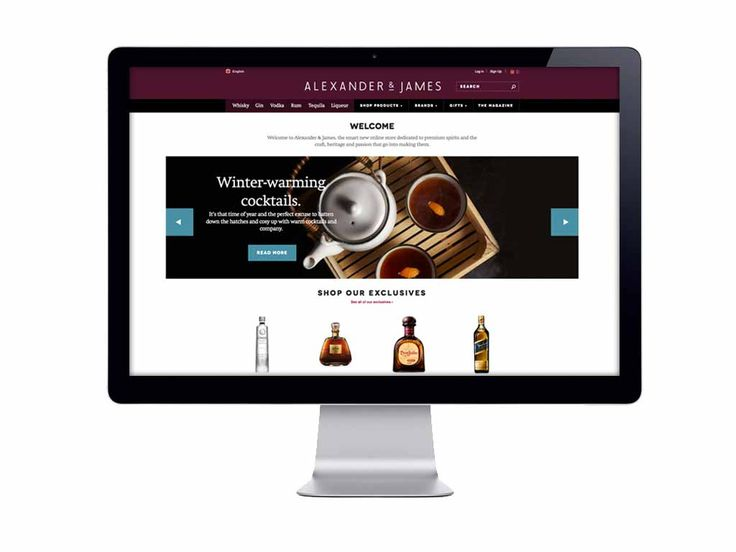 Diageo partnered with Huge London to launch Alexander & James, the company's first e-commerce platform, that allows consumers to purchase spirits online.