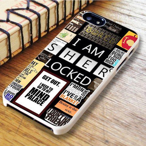 A Bunch Of Sherlock iPhone SE Case