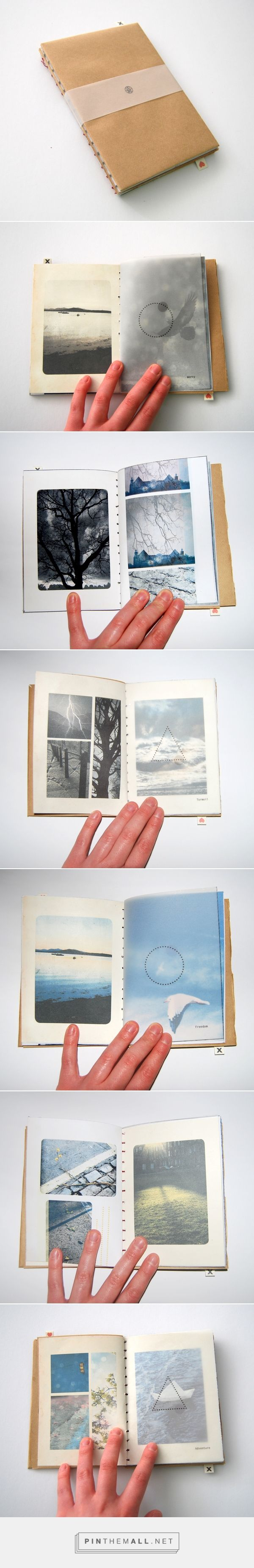 Twin Memory Book on Behance - created via http://pinthemall.net