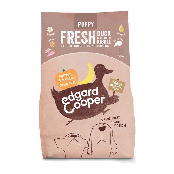 Edgard&Cooper Puppy Duck & Chicken -kuivaruoka koiranpennulle