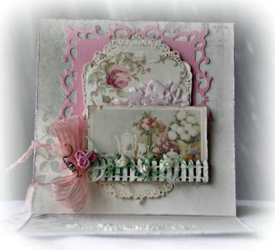 """I added """"Pion Designs with a Dusty Attic Touch 