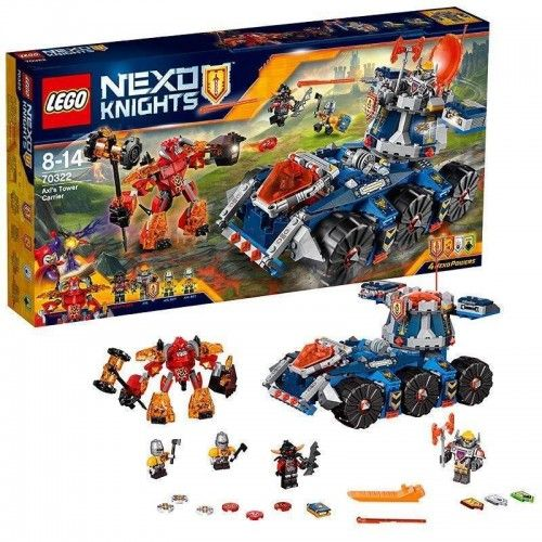 LEGO 70322 Nexo Knights / Axl's Tower Carrier 70322