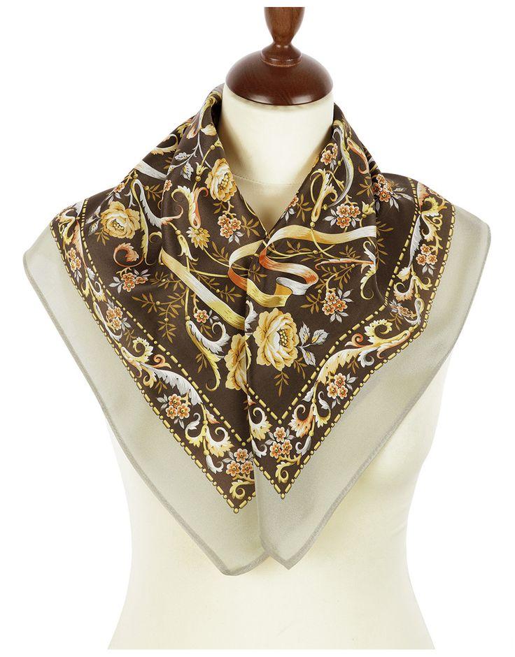 Silk scarf ''Serpentine'' | RusClothing.com