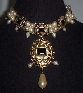 Quot Queen Elizabeth I Quot Cluster Necklace Replica From The One