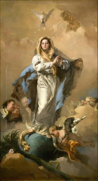 La Inmaculada Concepción - Tiepolo Giambattista - 1767- 1769 -  Colección - Museo Nacional del Prado