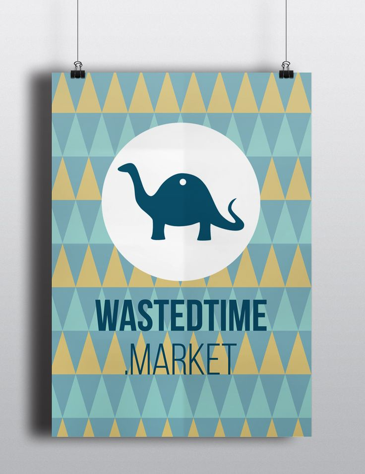 Poster wastedtime.market