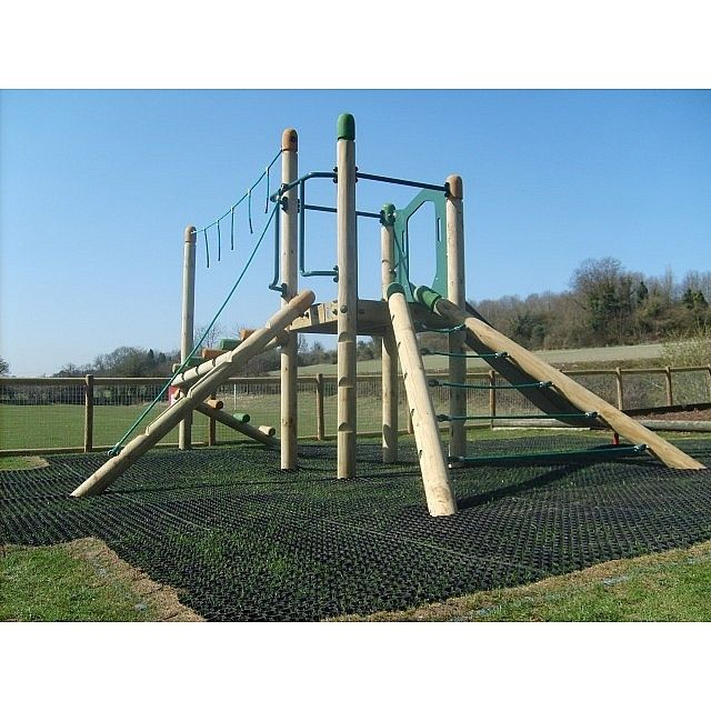 ... Unit Combines Various Activities Such As Climbing And Slides Into One  Product. This Is An Ideal Playground Equipment For Schools With Older  Children