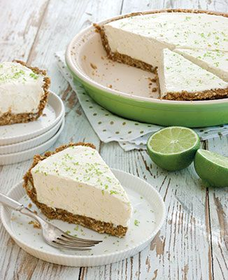 Frozen Key Lime Pie - Southern Desserts Cookbook - Taste of the South