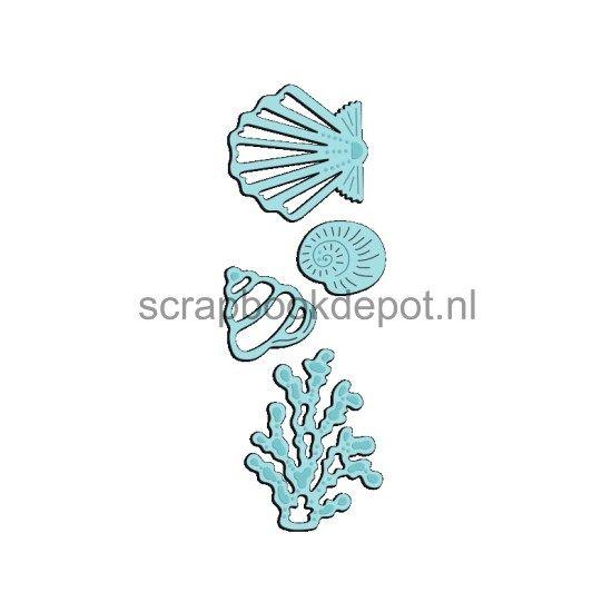 Sweet Dixie Mini Dies Seashells & Seaweed