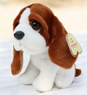 Праздничная распродажа 1 шт. 20 см мини-мультфильм долго уха собаки украшения плюшевых животных куклы милые мягкая игрушка любовник подарок на день рождения
