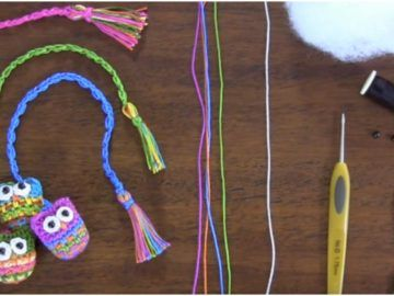 Owl Bookmarks Crochet Tutorial Crochet – Page 14 – Craft Addicts