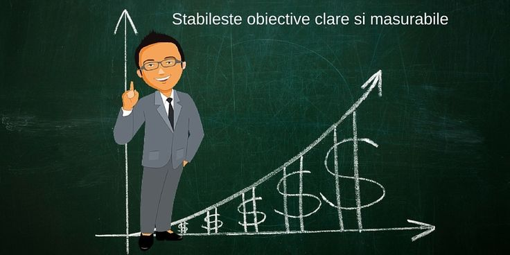 stabileste obiective financiare