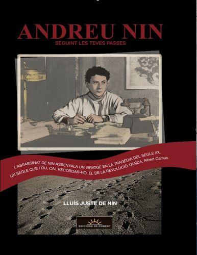 CATALONIA COMICS: ANDREU NIN. SEGUINT LES TEVES PASSES