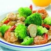 Resep-Mudah-Tumis-Brokoli-dan-udang-Saus-Tiram