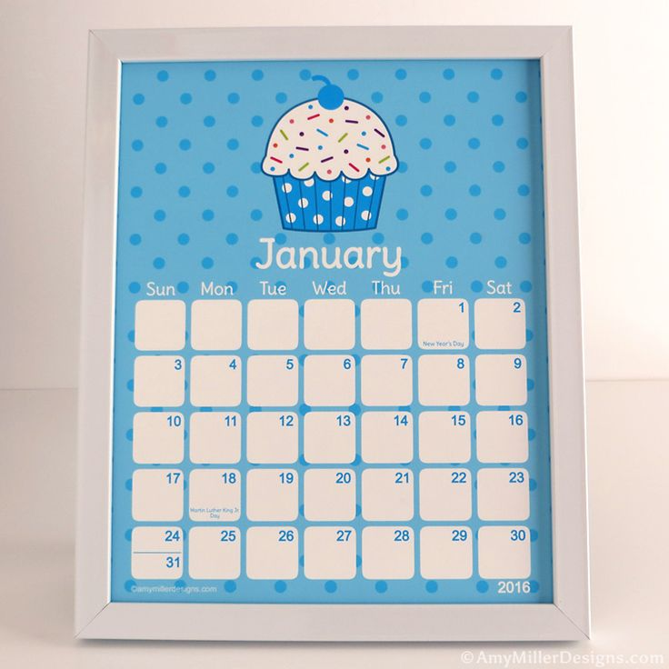 Calendar Illustration Board : Best images about cupcake items on pinterest calendar