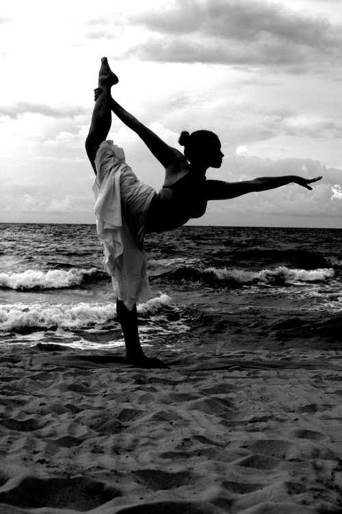Tumblr black and white yoga