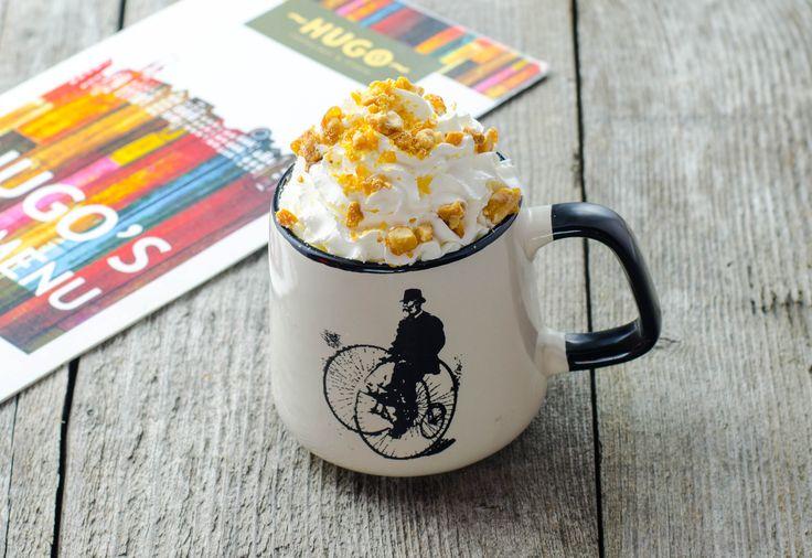 Hazelnut hot coffee